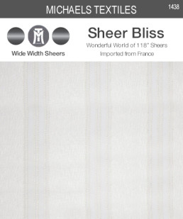 1438 - Sheer Bliss