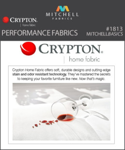 1813 - Crypton Performance Fabrics